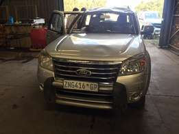 Ford Everest 3.0L Manual 2x4 striping for spares