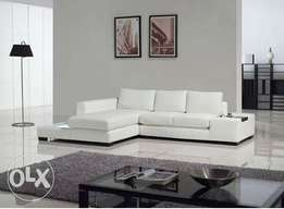 [LargeLife Furniture] GRACE Series 5 Seater Sectional Leather Sofa