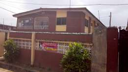 Nice Block of 4Flat of 3BR plus 2BR bq at Okunola Egbeda