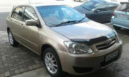 2007 Toyota runx sports 1.6 in a good condition.