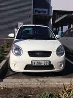 2010 Kia Picanto 1.1 Hatch (72000km) White