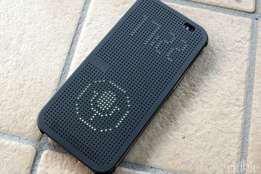 Htc One Dot view cover. very stylish and unique