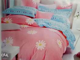 1 mattress cover 2 pillow cases 2 bed sheet ,free delivery