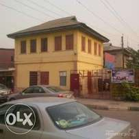 Corner piece property on 1000 sqm in Ebute Metta
