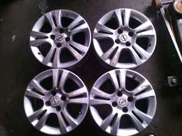 15 inch rims for Corsa on special for sale in a good condition