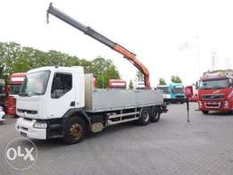 Renault Premium 340 6x2 Manual Palfinger 15500 - For Import