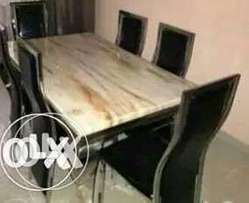 This is a brand new imported marble dining table