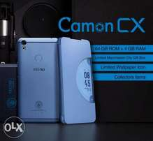 Tecno camon CX brand new sealed.