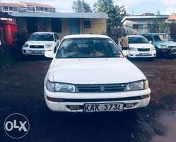 Toyota Corolla AE100, Year 1991, 5 Speed Manual