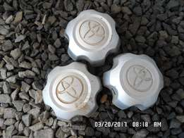 2012 Toyota Hilux Hubcaps x 3