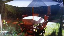 Prime Garden furniture Tent ,Tabel,Chairs from Sunnydaze Furniture