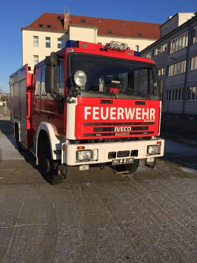 Iveco EuroFire 135E24, Feuerwehr, Fire truck, Fire engine - 1997