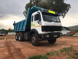 Mercedes Benz 2628 V-series 10cube tippers
