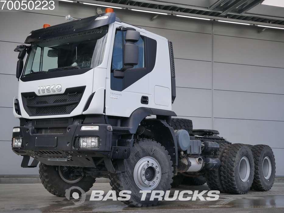 Iveco Trakker HI-Track AT720T44 6X6 6x6 Manual Big-Axle Steelsu...