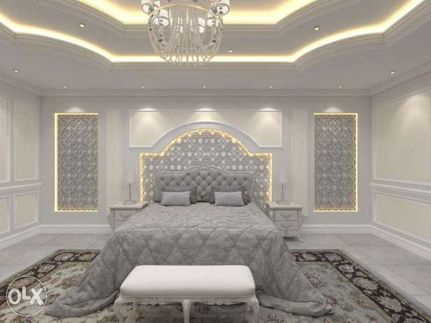 Interior celling decor and paint
