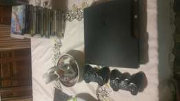 Ps3 with 18games