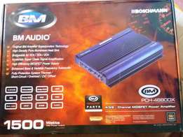 New Boschmann 1500Watts 4/3/2CH Car Amplifier Booster PCH-48800X
