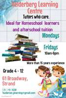 Gr4 - 12 Tuition (Homeschoolers and Scholars)