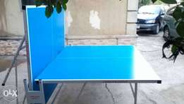 Foldable tennis table wt roller