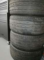 4x 18 inch tyres for sale