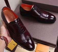 Louis Vuitton leather shoes