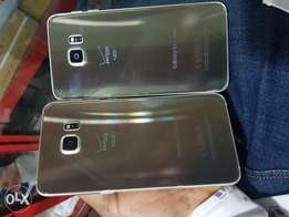 UK used Samsung galaxy s6 edge plus with small crack