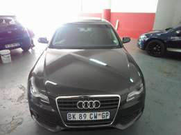 2013 Audi A4 B8 1.8T, Color Grey, Sunroof, Prince R143,000.