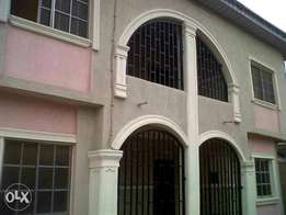 Standard Executive 3bed Rooms Flat at Idimu Ejigbo Estate