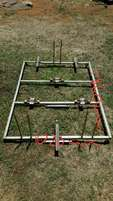 Bicycle carrier frame