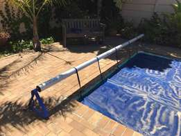 Pool bubble covers for evaporation prevention