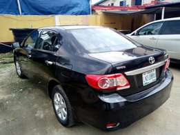 Neatly used toyota corolla 2012 model up for grab
