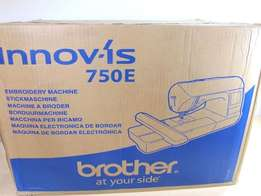Brother 750e Embroidery Machine