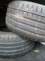 2 X Continental 245/45/17 tyres