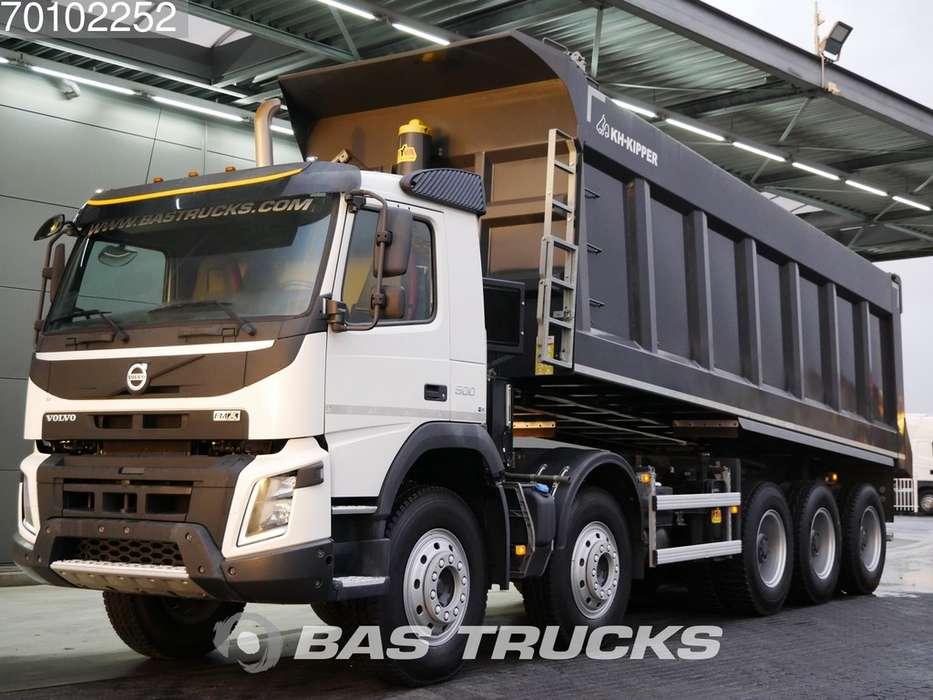 Volvo FMX 500 10X6 34m3 VEB+ Big-Axle Steelsuspension - 2014