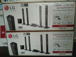 Powerful LG home theater 1000wt Bluetooth