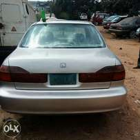 Neatly used Honda accord 2002 for sale.
