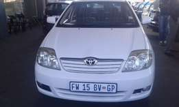 2004 Toyota Corolla 1.8 for sell 90000r