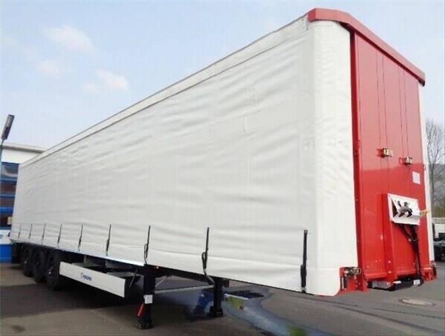 Krone Orten C+ SafeServer Plane Plateau Container Bef. - 2019