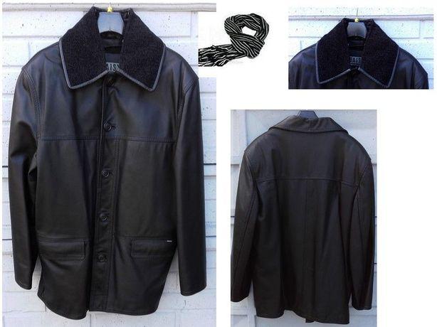 8be09c1dd7aca Nowa męska kurtka skóra naturalna z podpinką r L -50 Ostrów Wielkopolski -  image 1