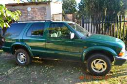 Chef Blaizer 2001 model, 4 x 4