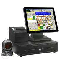 Touchscreen POS System and Software