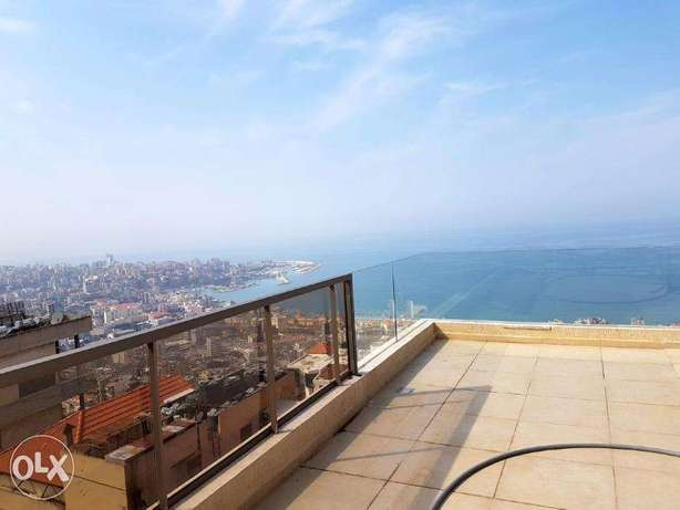 370 m2 penthouse for sale in Sahel Alma (sea view, mountain view)