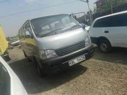 Nissan caravan KBL well maintained