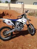 Yz 250 F with WR gearbox