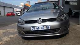 2013 VW Golf 7 1.4 TSI Bluemotion Auto Available for Sale