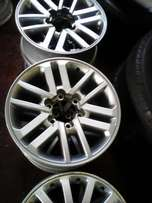 Toyota Bakkie and suv rims