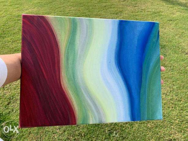 Canvas painting /abstract art / handcrafted