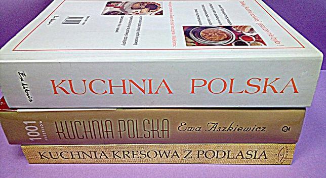 Pakiet Książek Kuchnia Polska Kuchnia Kresowa Z Podlasia