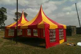 We make Tents of very high quality 100 seater 80,000 n 50 seaters 45,0