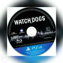 PS4 watch dogs (working perfectly)